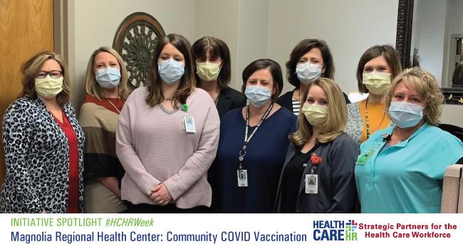 Initiative Spotlight: Magnolia Regional Health Center: Community COVID Vaccination